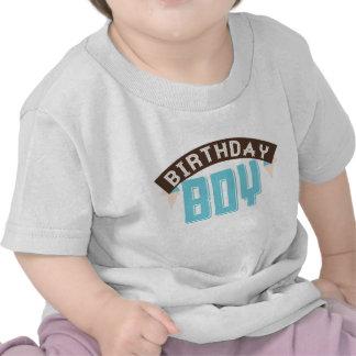 Camiseta del muchacho de Birthdy