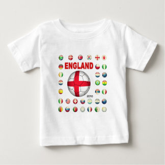 Camiseta del mundial de Inglaterra Poleras
