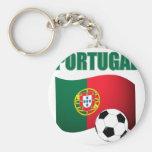 Camiseta del mundial de Portugal Llaveros Personalizados