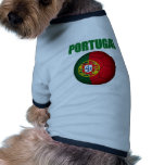 Camiseta del mundial de Portugal Ropa Perro