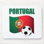 Camiseta del mundial de Portugal Alfombrillas De Raton