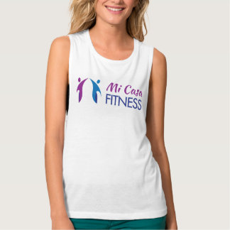 Camiseta del músculo de las señoras playera de tirantes anchos