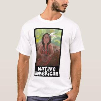 Camiseta del nativo americano por Mandee