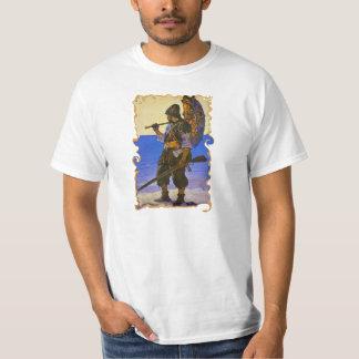 Camiseta del náufrago de la isla desierta de
