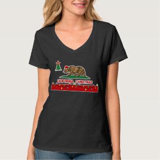 Camiseta del navidad de California