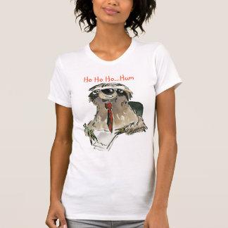 Camiseta del navidad de la pereza del dibujo remeras