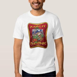 Camiseta del navidad de Maui Playera