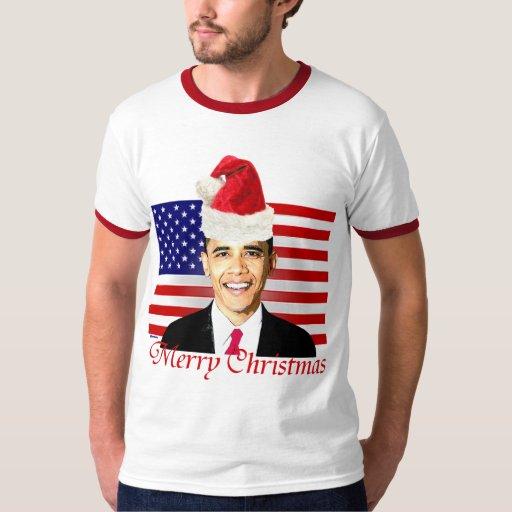 Camiseta del navidad de Obama Remera