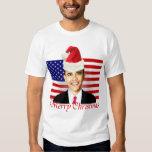 Camiseta del navidad de Obama Remeras