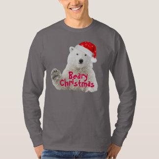 Camiseta del navidad del oso polar el | Beary de Remeras