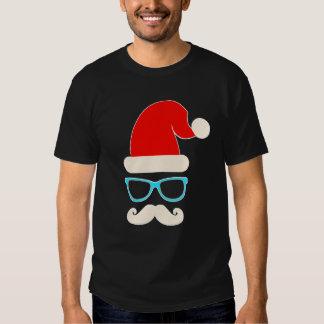 camiseta del navidad del padre de santa del remeras