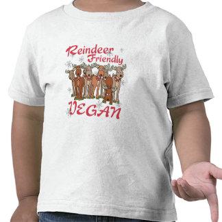 Camiseta del navidad del reno