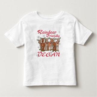 Camiseta del navidad del reno playeras