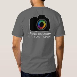 Camiseta del negocio de la fotografía polera