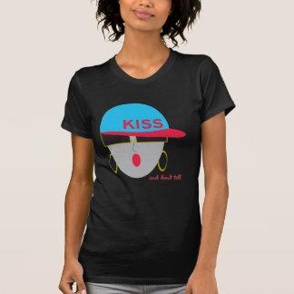 """Camiseta del negro del """"beso"""" de AnabelNY"""