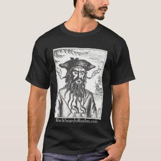 Camiseta del negro del reino de Blackbeard