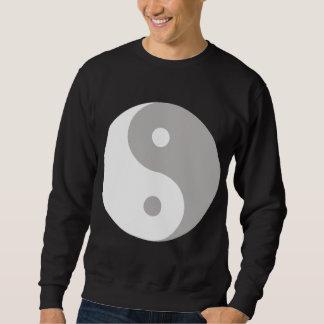 Camiseta del negro del símbolo de Ying Yang