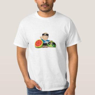 Camiseta del ninja de la fruta polera