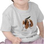 Camiseta del niño de Basset Hound