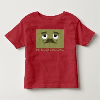Camiseta del niño de BBSS Moustachios #2 Playera