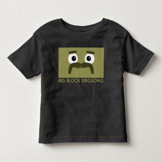 Camiseta del niño de BBSS Moustachios #3 Playera
