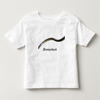 Camiseta del niño de Bronzeback