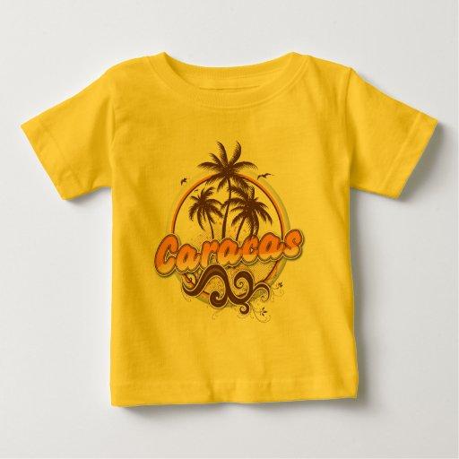 Camiseta del niño de Caracas
