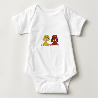 Camiseta del niño de cocker spaniel playera