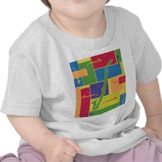 Camiseta del niño de Colorblocks