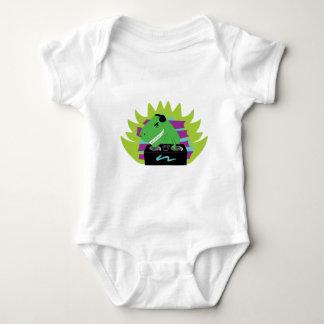 Camiseta del niño de DJ-asaurus Rex Playera