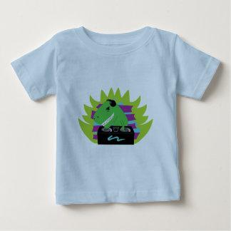 Camiseta del niño de DJ-asaurus Rex Remera