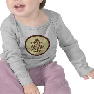 Camiseta del niño de Ganesha