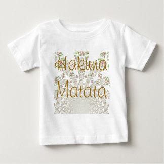 Camiseta del niño de Hakuna Matata