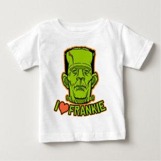 Camiseta del niño de Halloween Frankenstein Poleras