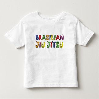 Camiseta del niño de Jiujitsu del brasilen@o Playera