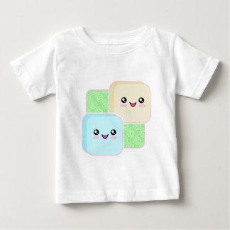 Camiseta del niño de Kawaii Mochi Remeras