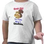 Camiseta del niño de la ardilla