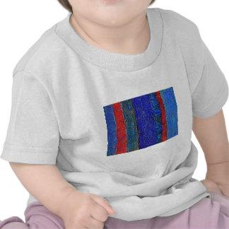 Camiseta del niño de la BANDERA del DRIL DE