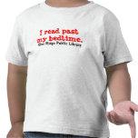 Camiseta del niño de la biblioteca pública de Ridg