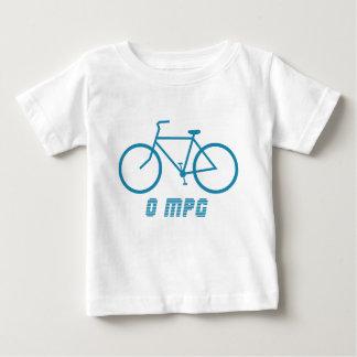 Camiseta del niño de la bicicleta 0 MPG