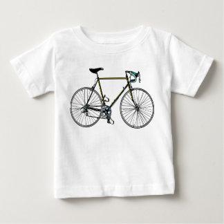 Camiseta del niño de la bicicleta