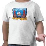 Camiseta del niño de la ciudad del corcho