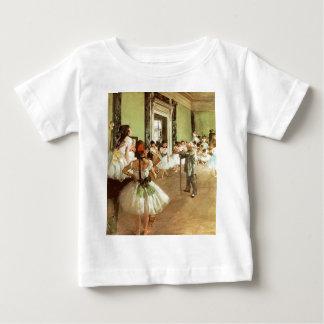 Camiseta del niño de la clase de danza poleras