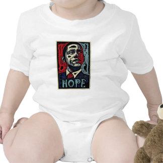 Camiseta del niño de la esperanza 2 de Obama