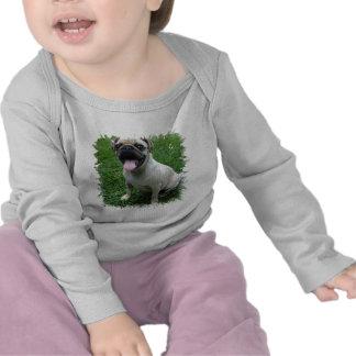 Camiseta del niño de la foto del barro amasado