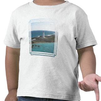 Camiseta del niño de la foto del faro