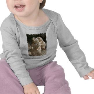 Camiseta del niño de la foto del perro de las