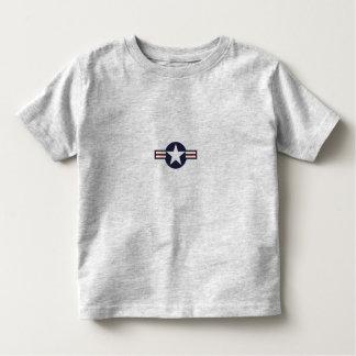 Camiseta del niño de la fuerza aérea