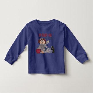 Camiseta del niño de la graduación de Pre-K Playeras