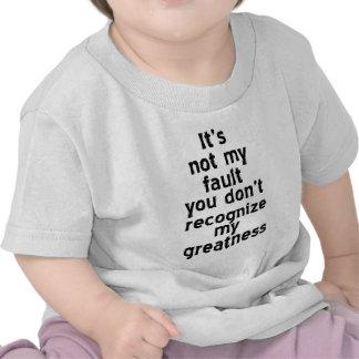 Camiseta del niño de la grandeza